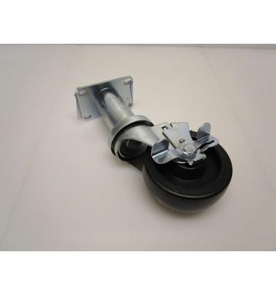 Roulette pivotante avec frein pour Friteuses RE