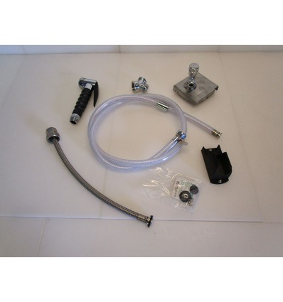 Douchette pour mini OES6.10 2en1 - Montage - système clos - gauche