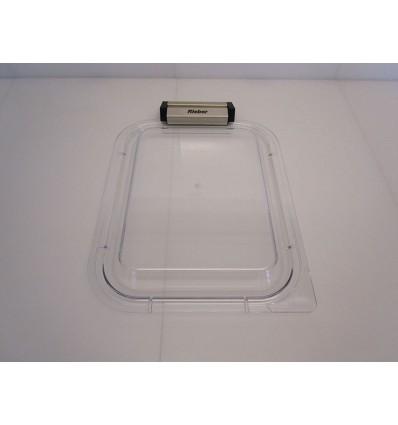 Couvercle buffet 1/2 plastique transpar.